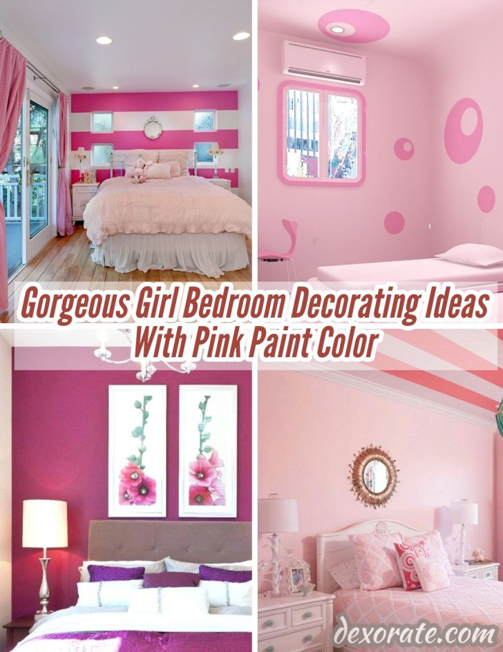 Girl Bedroom Decorating Ideas 22 Gorgeous Girl Bedroom Decorating Ideas with Pink Paint