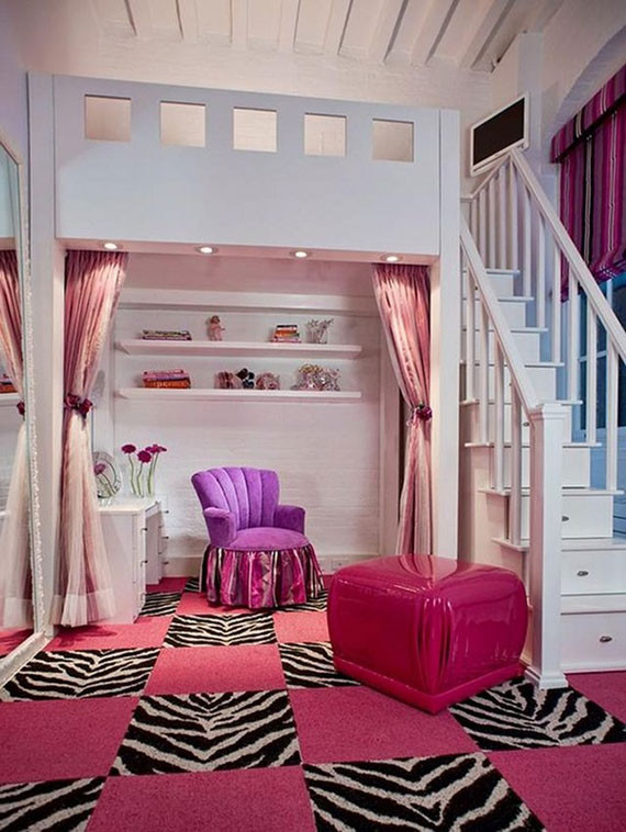 Girl Bedroom Decorating Ideas Colorful Girls Rooms Design & Decorating Ideas 44