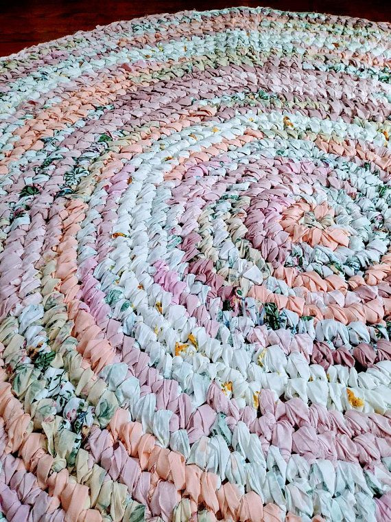 Girls Bedroom area Rugs Rag Rug 6ft Round Girls area Rug Girls Bedroom Decor