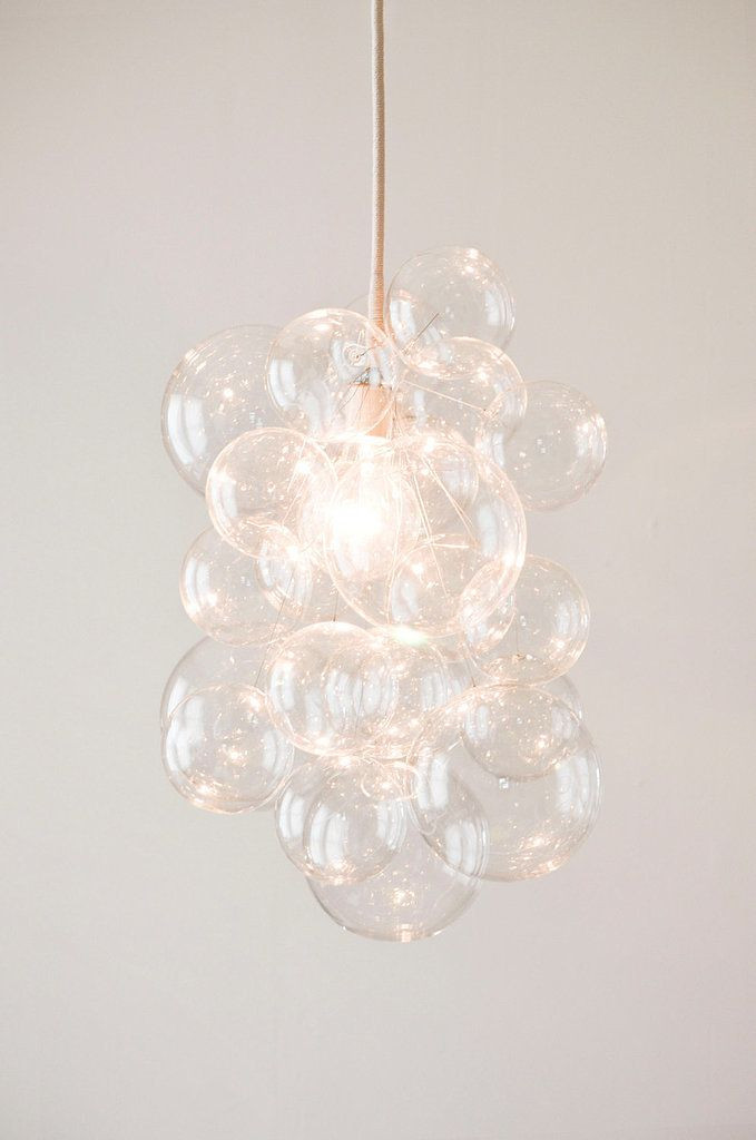 Girls Bedroom Ceiling Light Diy Bubble Chandelier