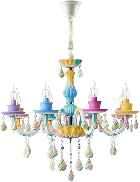 Girls Bedroom Ceiling Light topdeng Princess Chandelier for Girls Room E12 8 Lights
