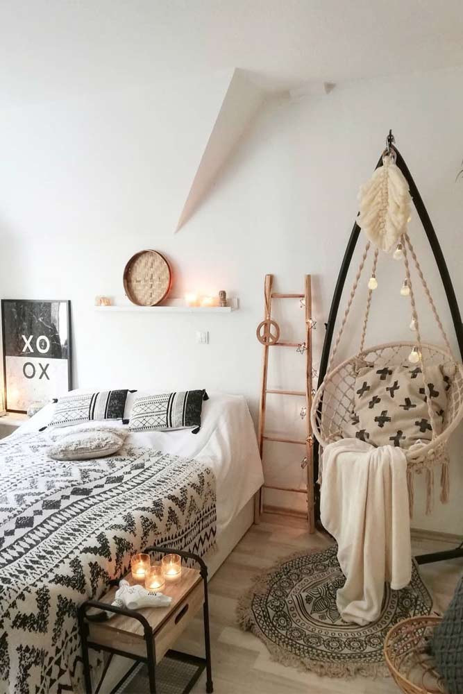 inspiring teen bedroom ideas boho print cozy