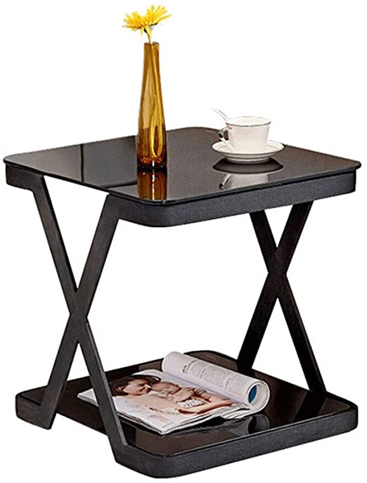 Glass Side Tables for Bedroom Amazon Glass Coffee Table Living Room sofa Side Table