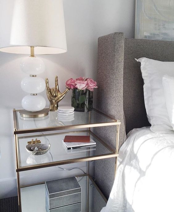 Glass Side Tables for Bedroom Bedroom Decor — Blog — Kresswell Interiors
