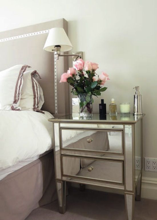 Glass Side Tables for Bedroom Peeking Into Designer S Homes