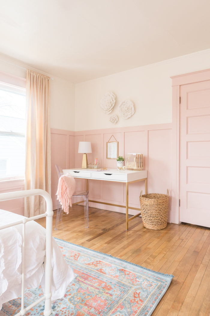 Gold and White Bedroom Decor Pink & Gold Girls Bedroom Decor Ideas
