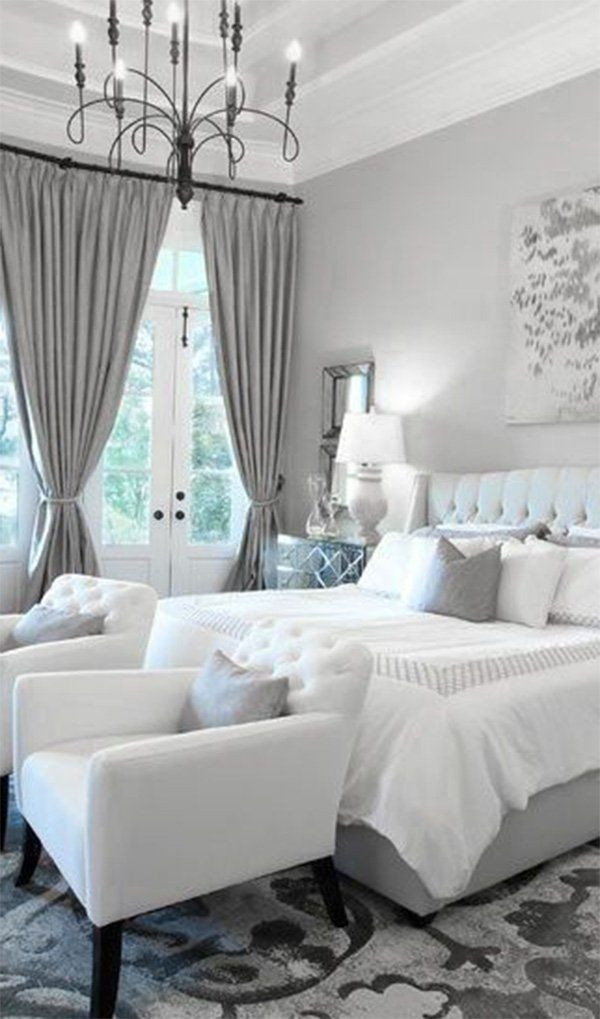 Gray and White Bedroom 20 White Bedroom Ideas that Bring fort to Your Sleeping