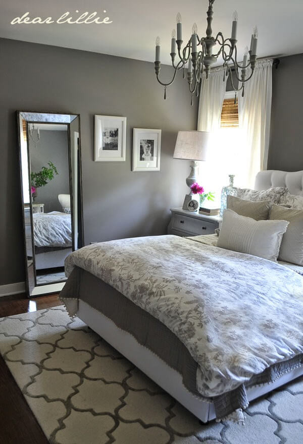Gray and White Bedroom 23 Best Grey Bedroom Ideas and Designs for 2020