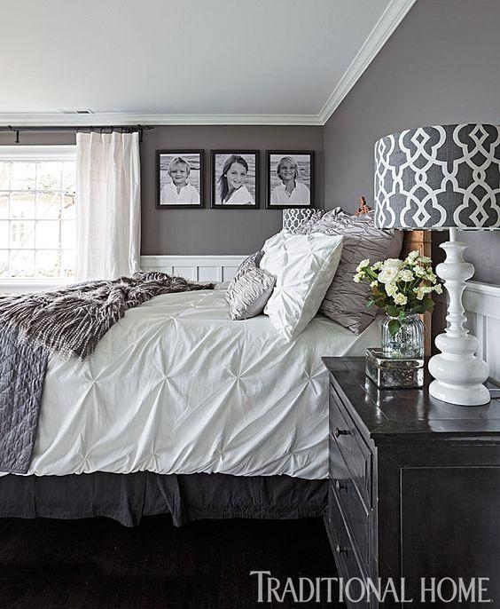 Gray and White Bedroom 40 Gray Bedroom Ideas & Decor