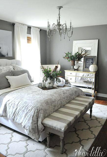 Gray and White Bedroom Decor Gray Bedroom Decor