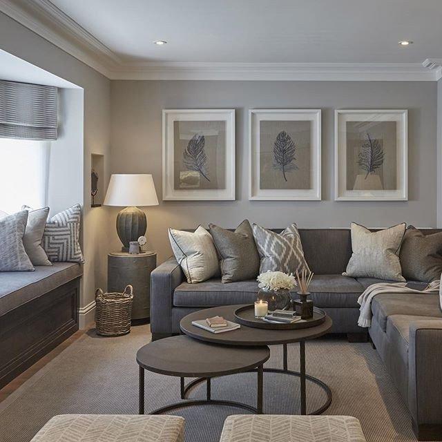 Gray Contemporary Living Room Contemporary Living Room Grey Living Room