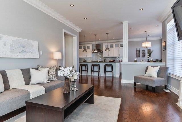 Gray Contemporary Living Room Fresh Modern Grey & White Living Space Modern Living