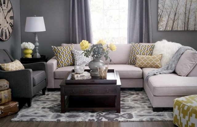 Gray Living Room Decor Ideas Color Ideas for Living Room – Gray Wall Paint