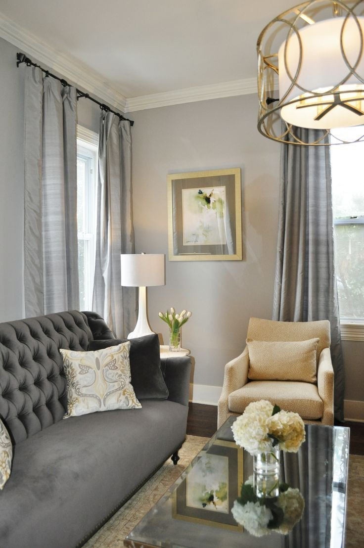 Gray Living Room Decor Ideas Grey formal Living Room with Gold Accents Google Search