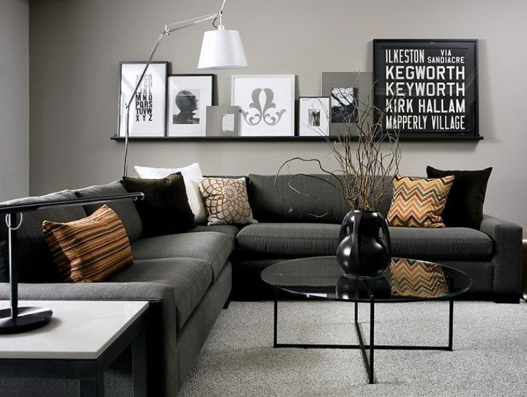 Gray Living Room Decorating Ideas Gray Living Room Design 9 Ideas