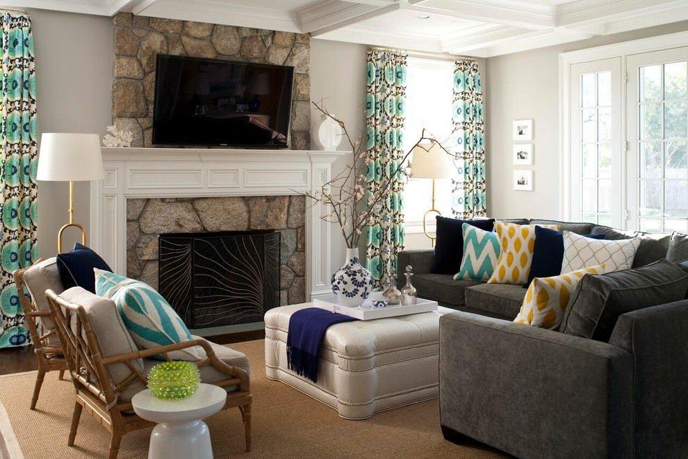 Gray sofa Living Room Decor 24 Gray sofa Living Room Designs Decorating Ideas