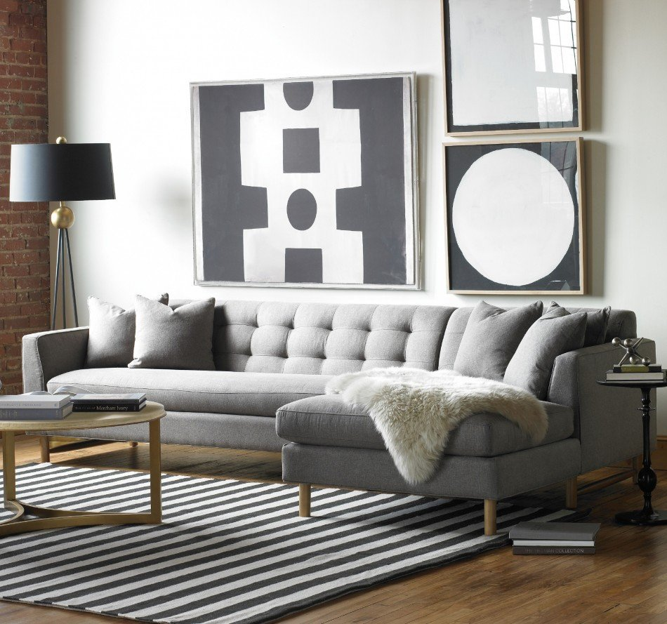 Gray sofa Living Room Decor Designing Rooms with An L Shaped sofa