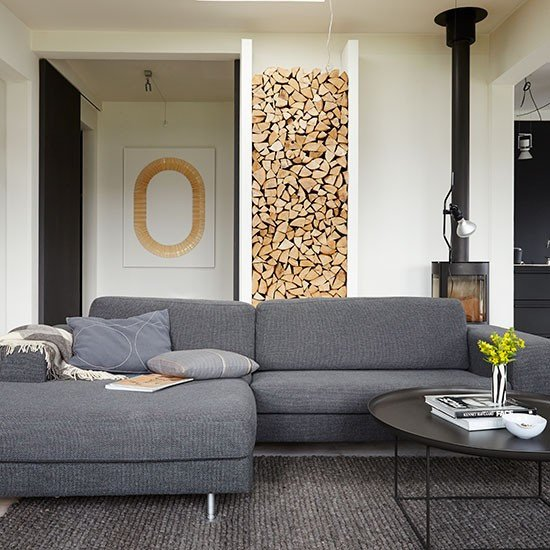 introduce a grey sofa into your scheme for a look that you will love for years to e