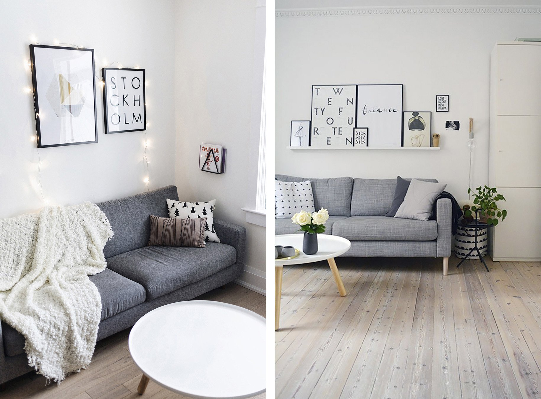 Gray sofa Living Room Decor top 10 Tips for Adding Scandinavian Style to Your Home