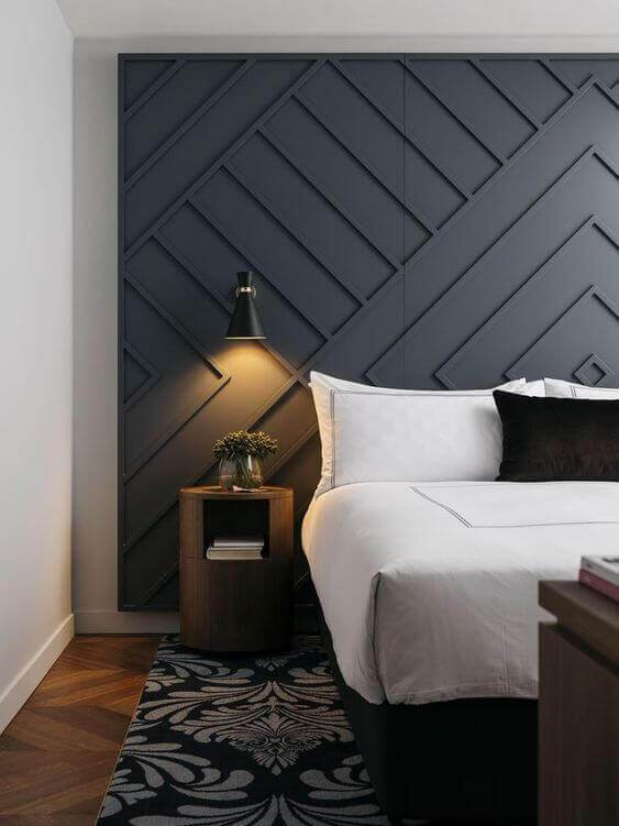 Grey Accent Wall Bedroom 31 Modern Accent Wall Ideas for Any Room In Your House