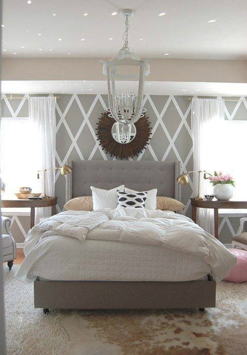 Grey Accent Wall Bedroom Awesome Bedroom Accent Wall Color and Decorating Ideas