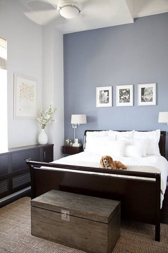 Grey Accent Wall Bedroom Color Passion 30 Bold Painted Accent Walls