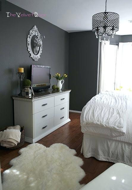 Grey Accent Wall Bedroom Dark Gray Bedroom Walls Like the Colors Dark Grey Walls with