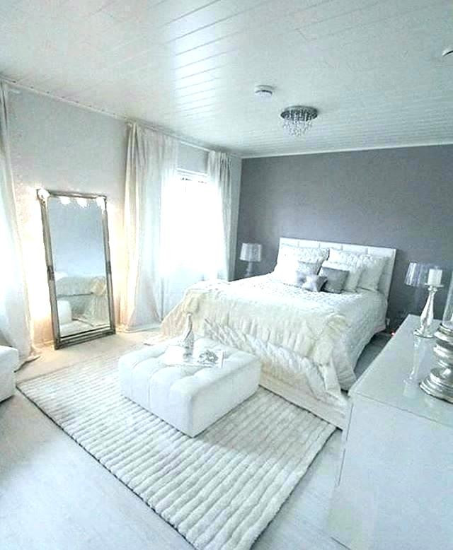 Grey Accent Wall Bedroom Grey Accent Wall Bedroom Home Gray Remodel White