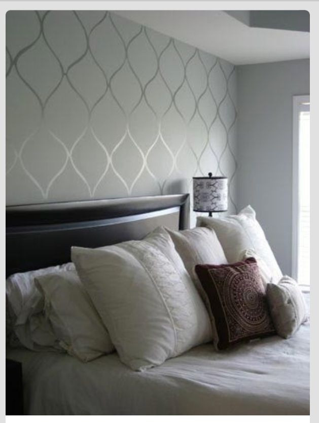 Grey Accent Wall Bedroom Subtle Accent Wall