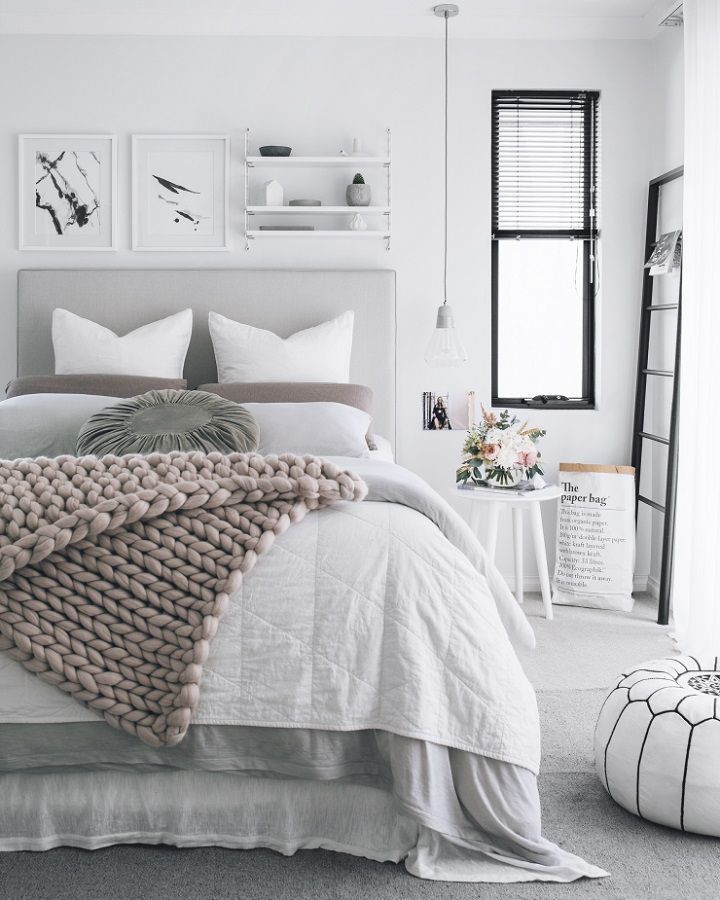 Grey and White Bedroom Decor 40 Gray Bedroom Ideas