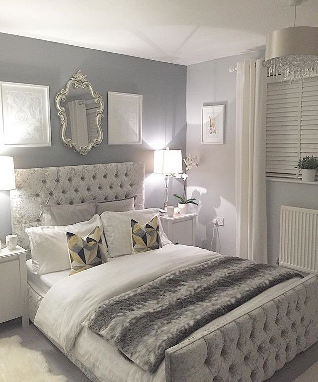 Grey and White Bedroom Decor Sandramarkas1