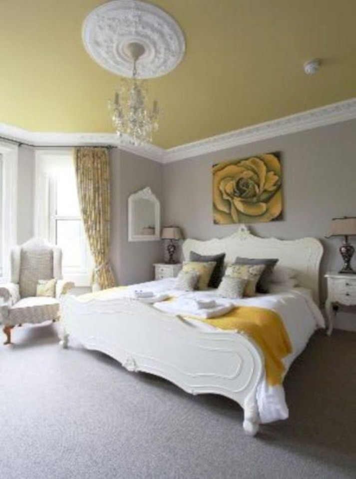 Grey and Yellow Bedroom Decor 46 Cozy Grey and Yellow Bedrooms Decorating Ideas Decorill