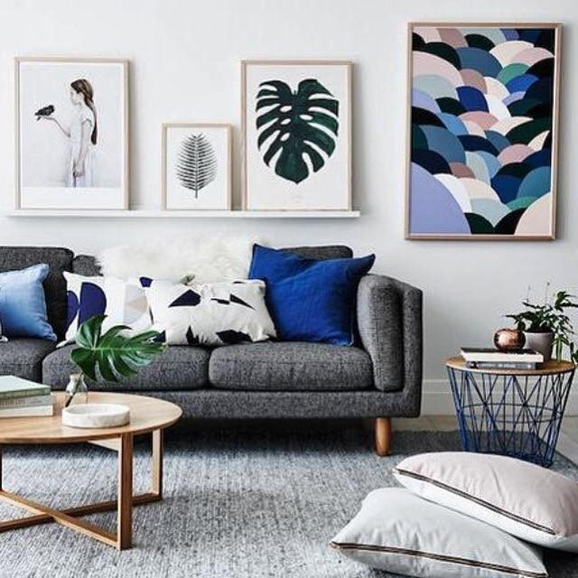 Grey Couch Living Room Decor Living Room Inspiration How to Style A Grey sofa – the