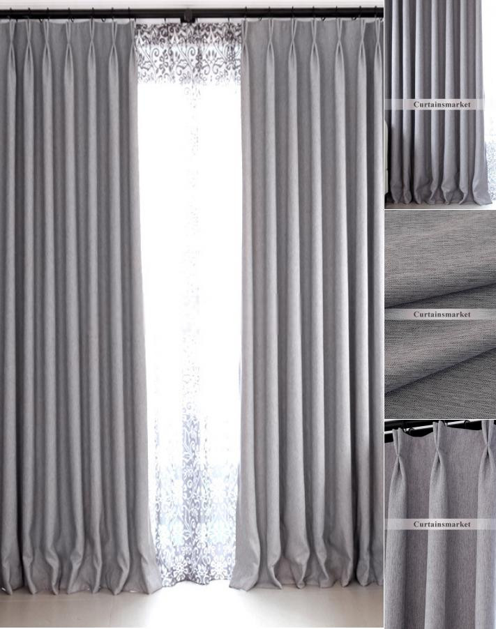 Grey Curtains for Bedroom Modern Bedroom and Living Room Gray Blackout Curtains