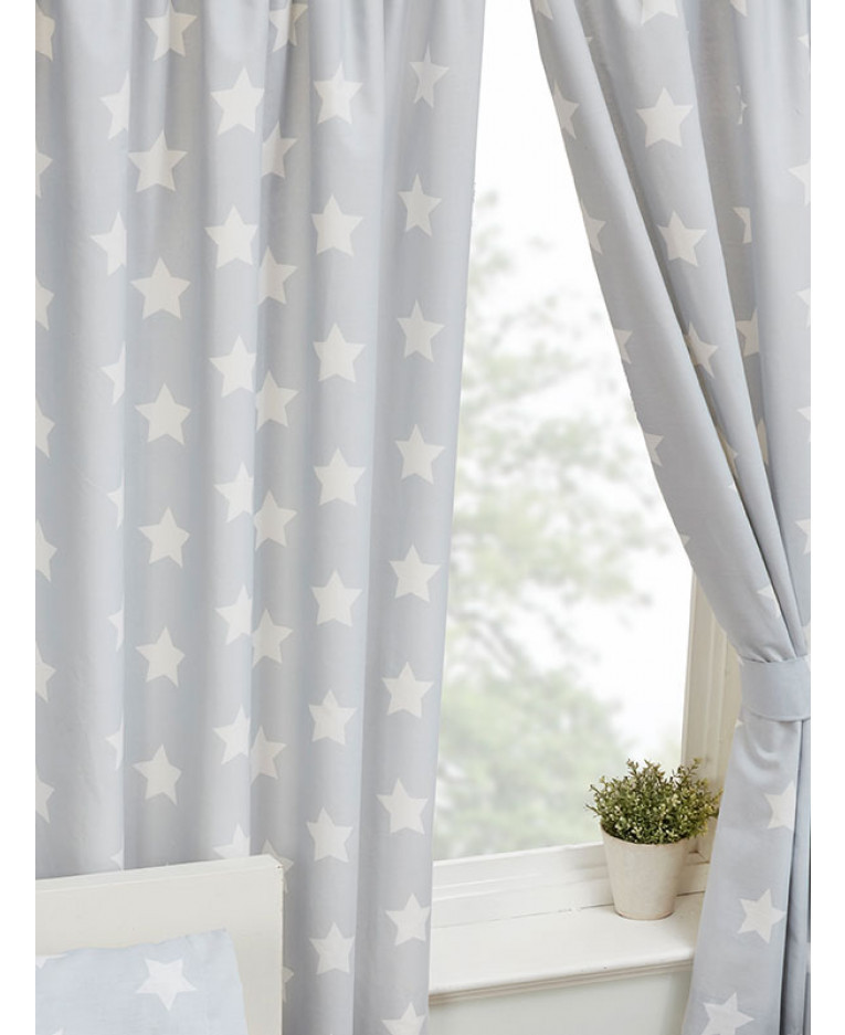 Grey Curtains for Bedroom Null