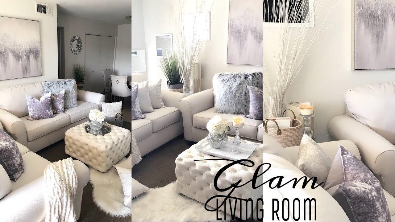 Grey Living Room Decor Ideas Glam Living Room Decorating Ideas