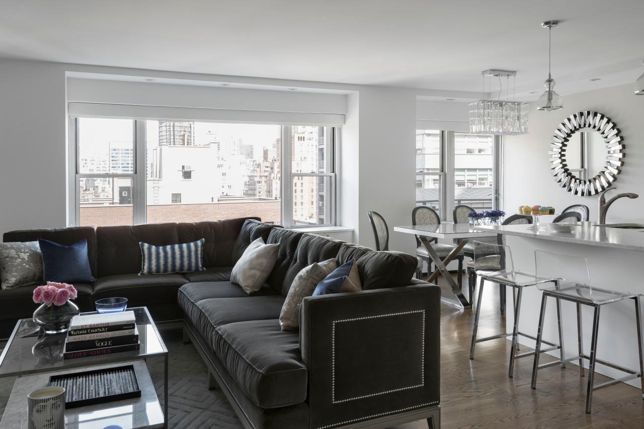 Grey sofa Living Room Decor 12 Living Room Ideas for A Grey Sectional