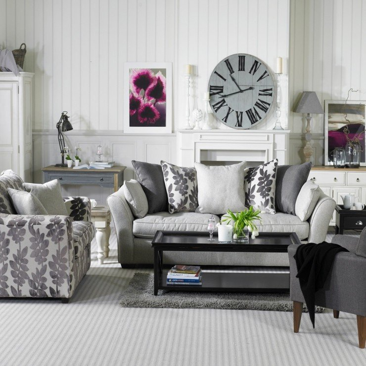 Grey sofa Living Room Decor 69 Fabulous Gray Living Room Designs to Inspire You