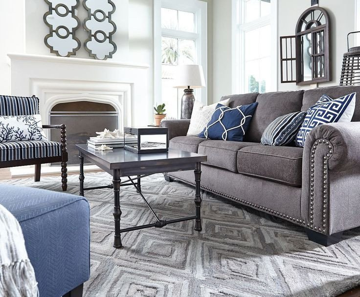 Grey sofa Living Room Decor Image Result for Grey and Navy Living Room