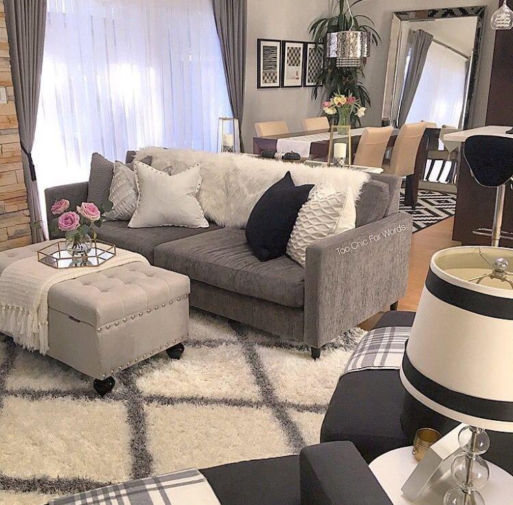 Grey sofa Living Room Decor Pinterest ↠ Unplannedmix Living Room