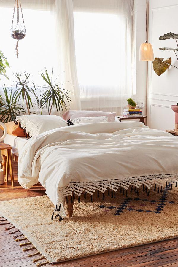 Hammock Bed for Bedroom Aura Hammock Fringe Duvet Cover