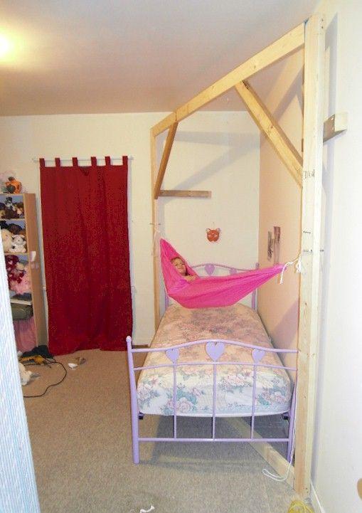 Hammock Bed for Bedroom Daughters Indoor Hammock Rack Hammock forums Elevate