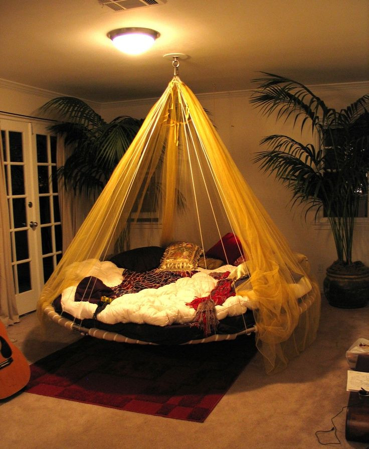 Hammock Bed for Bedroom Suspended In Style 40 Rooms that Showcase Hanging Beds