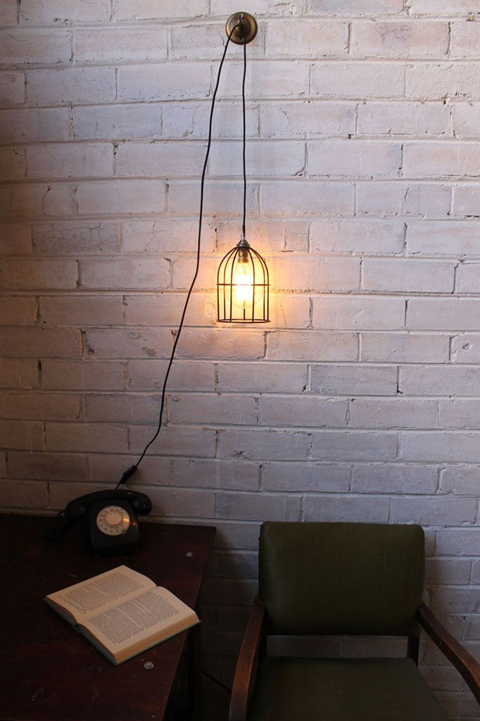 Hanging Light for Bedroom Pendant Light Cord Inline Switch with Wall Plug In 2020