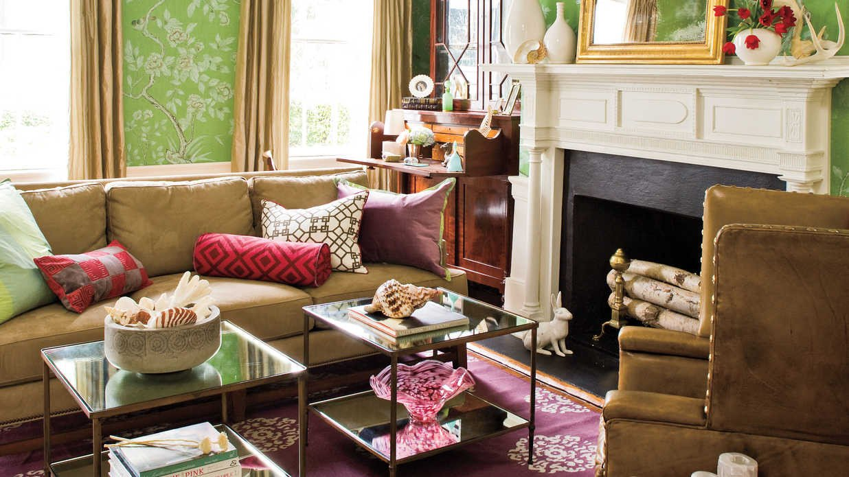 Home Decor Ideas Living Room Living Room Decorating Ideas southern Living