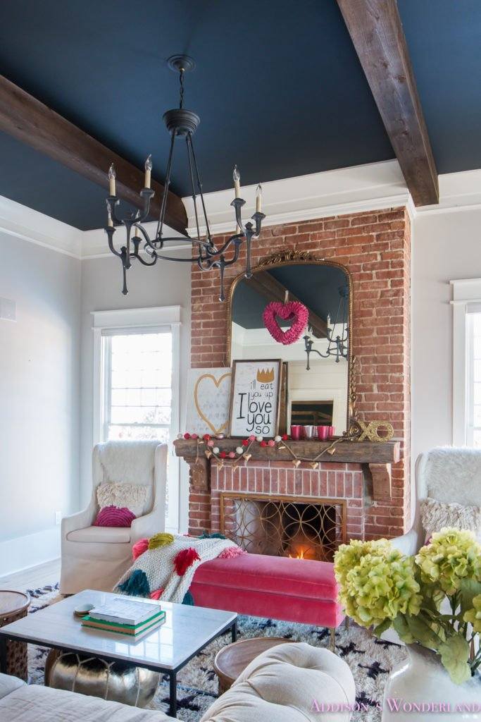 Home Decor Ideas Living Room Our Colorful Whimsical & Elegant Valentine S Day Living