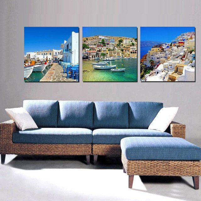 Home Decor Pictures Living Room Canvas Painting Wall Art for Living Room Decorations Home