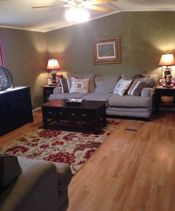 Home Decor Pictures Living Room Farmhouse Inspired Manufactured Home Makeover
