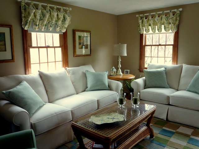 Home Decor Pictures Living Room Updated Colonial Style Home Traditional Living Room