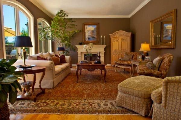 Homey Traditional Living Room 10 Traditional Living Room Décor Ideas